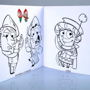 Album da colorare Carnevale d'Ivrea C3 studio
