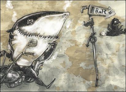 squalo illustratore