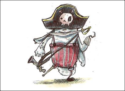 illustrazione pirata