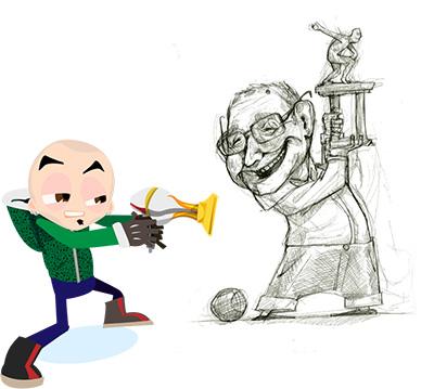 Realizzazione caricature