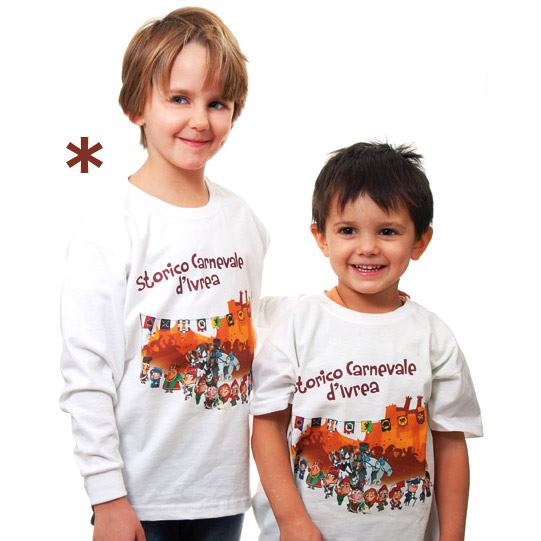 magliette carnevale ivrea