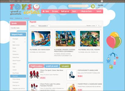 realizzazione siti e-commerce Ivrea