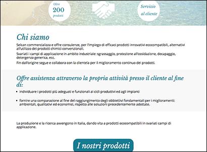 Progettazione e sviluppo sito web Seican