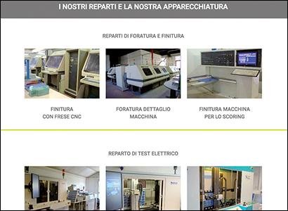 Realizzazione sito internet System Elettronica