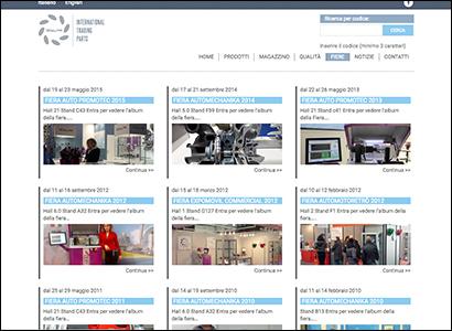 Realizzazione sito internet Turbo ITP