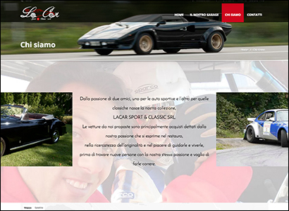 Sviluppo sito internet LaCar